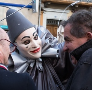 Limoux Carnival Mask