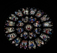 The Rose Window from 1230 AD