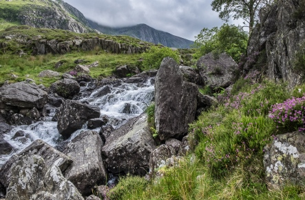 Falls in Snowdonia National Park
