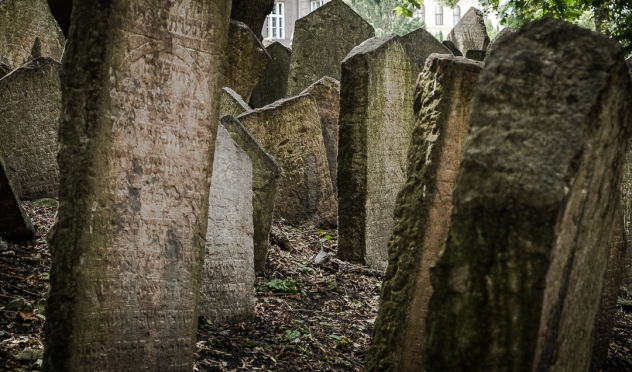 Jewish Cemetery in Prague