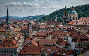 View from the Prague Castle.