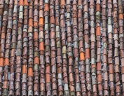 Typical tile roof in the Istrian hill towns.
