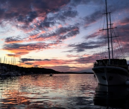 Sunset on Mali Losinj