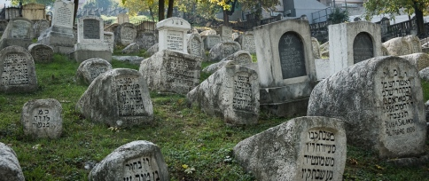 Old Jewish cemetery in Sarajevo. One of the front lines during the 92-96 siege.
