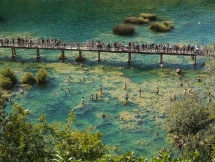 Crowds at Krka