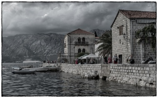 Village of Perast on the Bay of Kotor, Montenegro