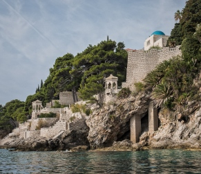 A sea estate near Dubrovnik .