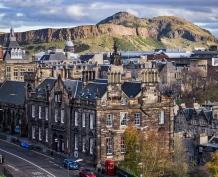 Arthurs Seat in Edinburgh