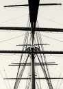 Ships rigging at Riverside Museum