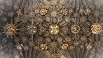 Order of the Thistle Chapel cieling