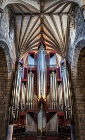 Organ in St. Giles Cathedral