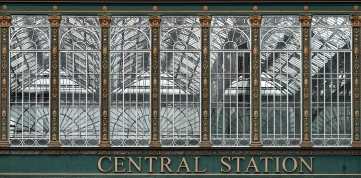 Glasgow Central Train Station