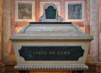 Tomb of Vasco de Gama at The National Pantheon