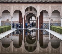 Alhambra reflecting pool