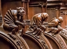 Seville Cathedral Choir chairs
