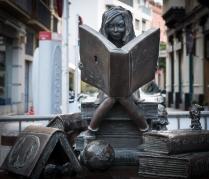 Statue in Seville