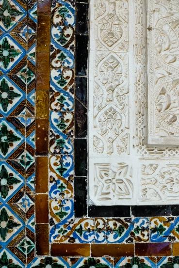 Tile detail in Real Alcazar