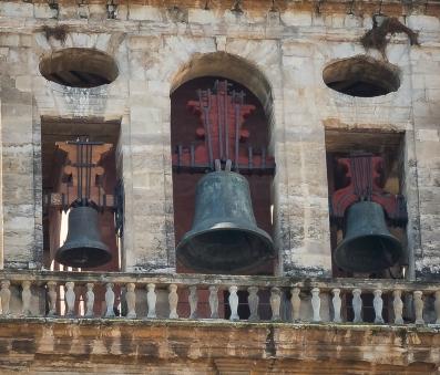 Bells of the Mezquita-Cathetral of Cordoba.