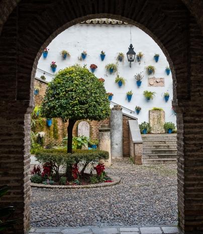 Courtyard in Cordoba.