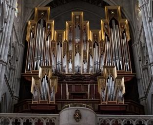Almudena Cathedral organ
