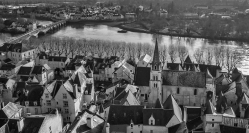 View from Chateau de Chinon