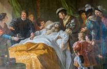 The King of France at Da Vinci's bedside at death.