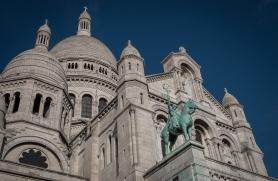 Basilica o the Sacre Coeur on Montmartre