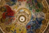 Paris Oper House ceiling by Chagall