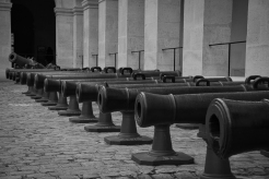 Canons outside Napoleons tomb