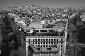 View from Arc de Triumph