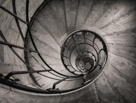Arc de Triomphe stairway