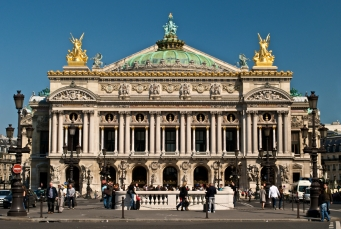 Front of Paris Oper House-not our picture